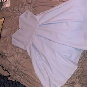 Nordstrom baby blue dress NWT